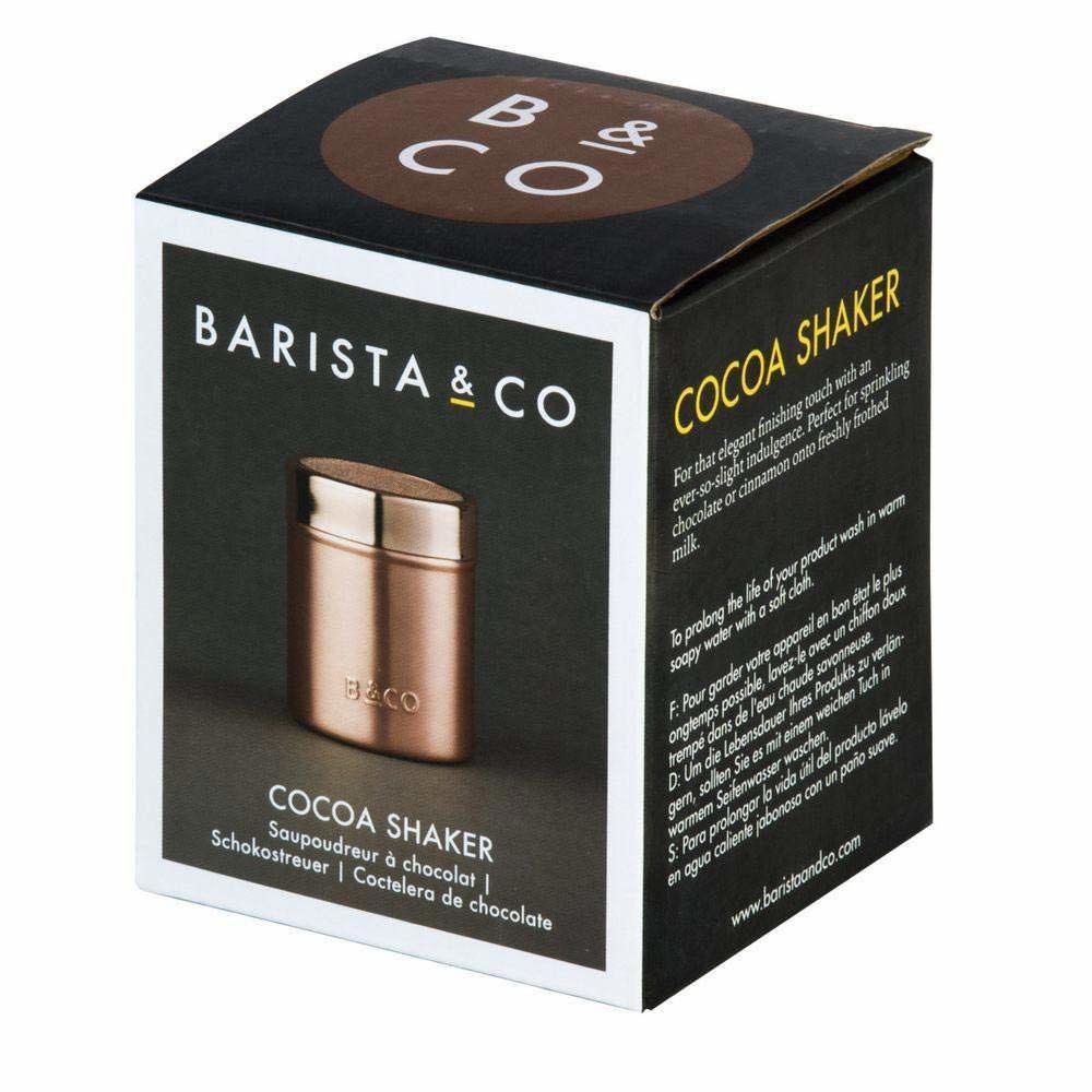 Barista & Co Cocoa shaker copper