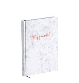 Rössler Bullet planner 'my journal'  A5 white marble