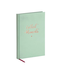 Rössler Bullet planner 'collect moments'  A5 mint green