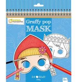Avenue Mandarine Avenue Mandarine graffy pop masks, Grimm's fairy tales
