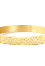 With love With love bangle gold  'snake'