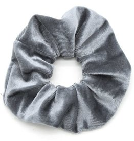 With love Scrunchie velvet grey