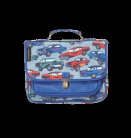 Caramel & cie Mini schoolbag cars 32 x 26 x 8 cm