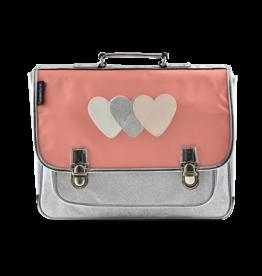 Caramel & cie Medium schoolbag hearts 38 x 31x12 cm