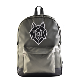 Caramel & cie Medium backpack grey wolf 30 x 40 x 13 cm