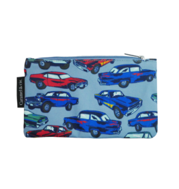 Caramel & cie Large pencil case cars 13 x 21 cm