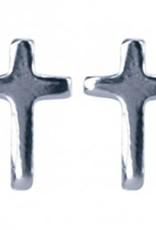 Treasure Silver earrings cross