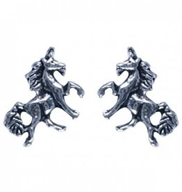 Treasure Silver earrings unicorn