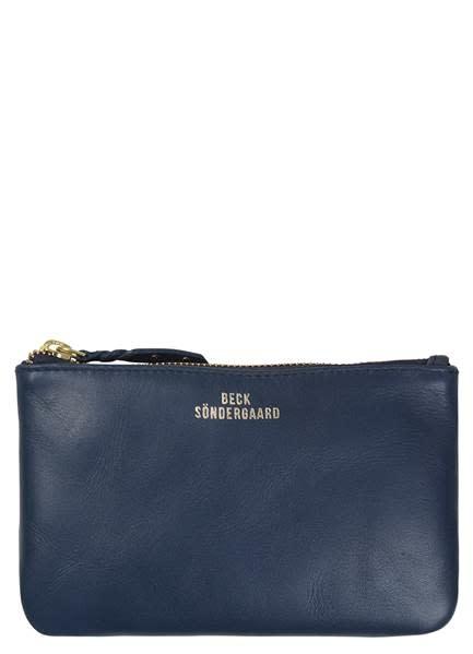Becksondergaard Lyla leather wallet - patriot blue 18 x 11 cm