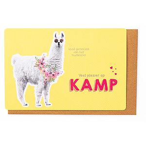 Enfant Terrible Enfant Terrible card + enveloppe kamp 'alpaca'