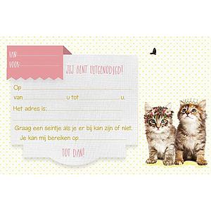 Enfant Terrible Enfant Terrible 5 invitations kitty