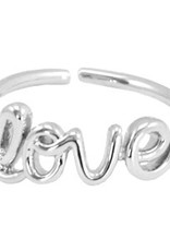 With love With Love ring one size - love