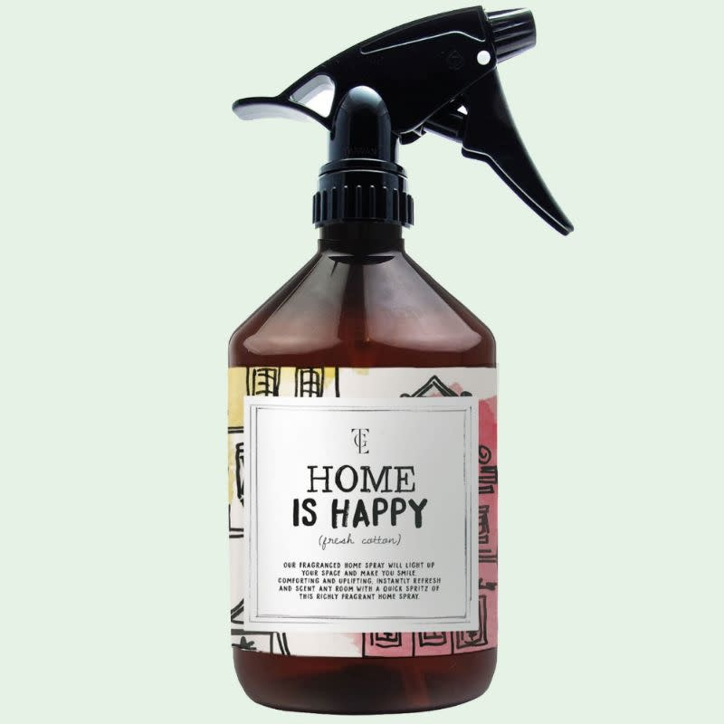 The Gift Label Room spray - Home is happy - firewood 500 ml.