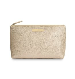 Katie Loxton Katie Loxton Mia make up bag - gold 22x14x9.5 cm