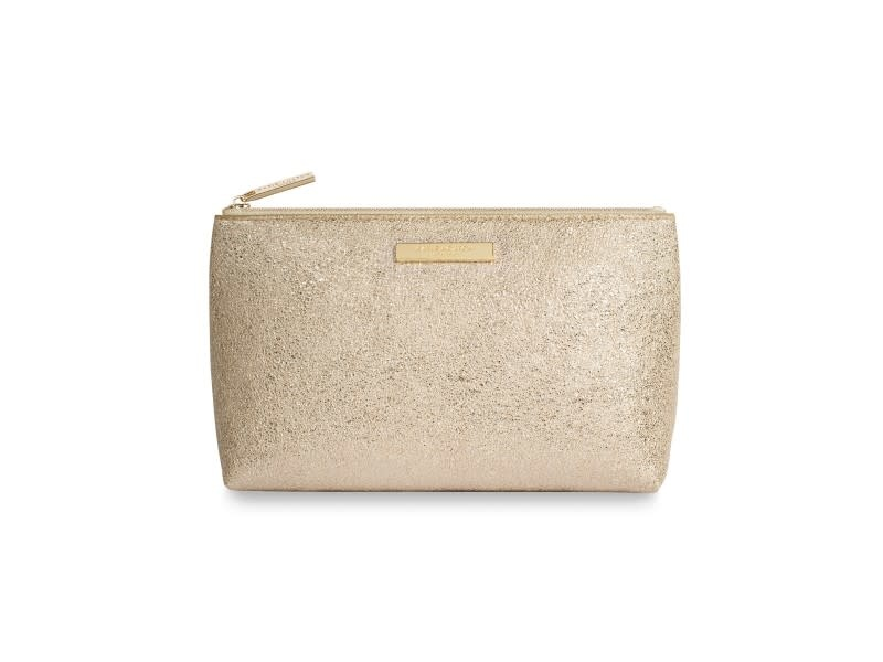 Katie Loxton Katie Loxton Mia make up bag - gold 22x14x9.5 cm
