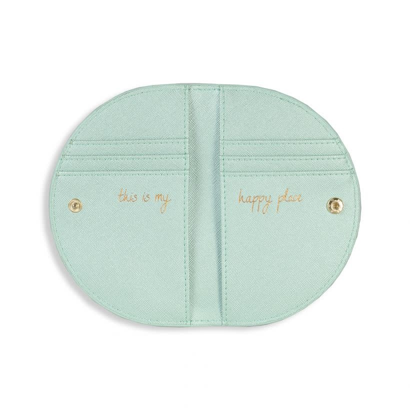 Katie Loxton Half moon purse - this is my happy place - 14.5 x 18.5 cm
