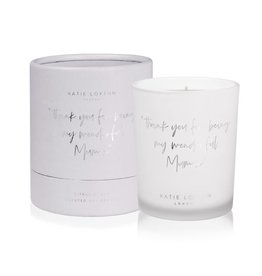 Katie Loxton Katie Loxton candle - Thank you for being my wonderful mum - citrus ocean- 160 gr.