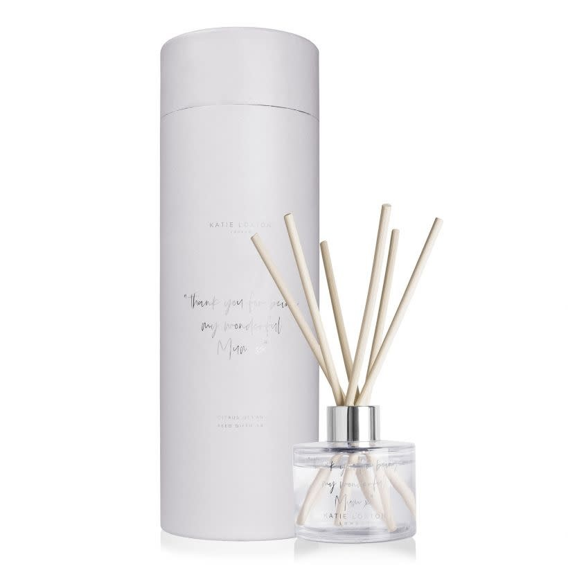 Katie Loxton Katie Loxton diffusor - Thank you for being my wonderful mum - citrus ocean- 100 ml.