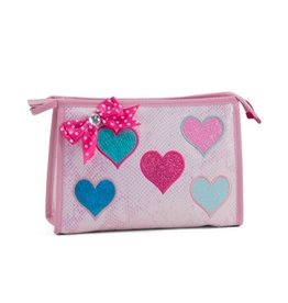 Zebra Toilet bag Diva hearts 26x16x8 cm