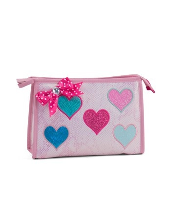 Zebra Toilet bag Diva hearts 26x16x8 cm