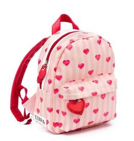 Zebra Zebra backpack Girls Stripes & hearts 30x25x11 cm