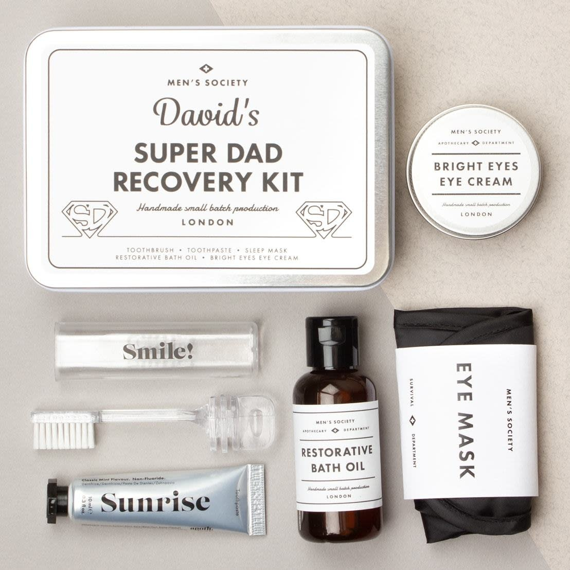 Men's Society Men's Society Super dad recovery kit