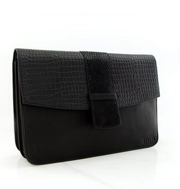 Détail Bag Harmony black croco