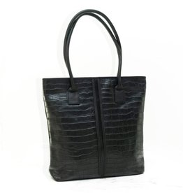Détail Bag Honor black croco