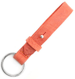 With love With Love keychain leather - coral red