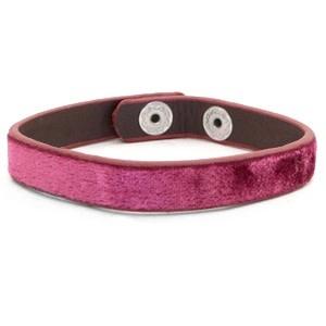 With love With Love bracelet velvet tawny red