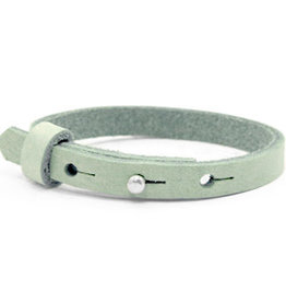 With love With love leather bracelet kids meadow green