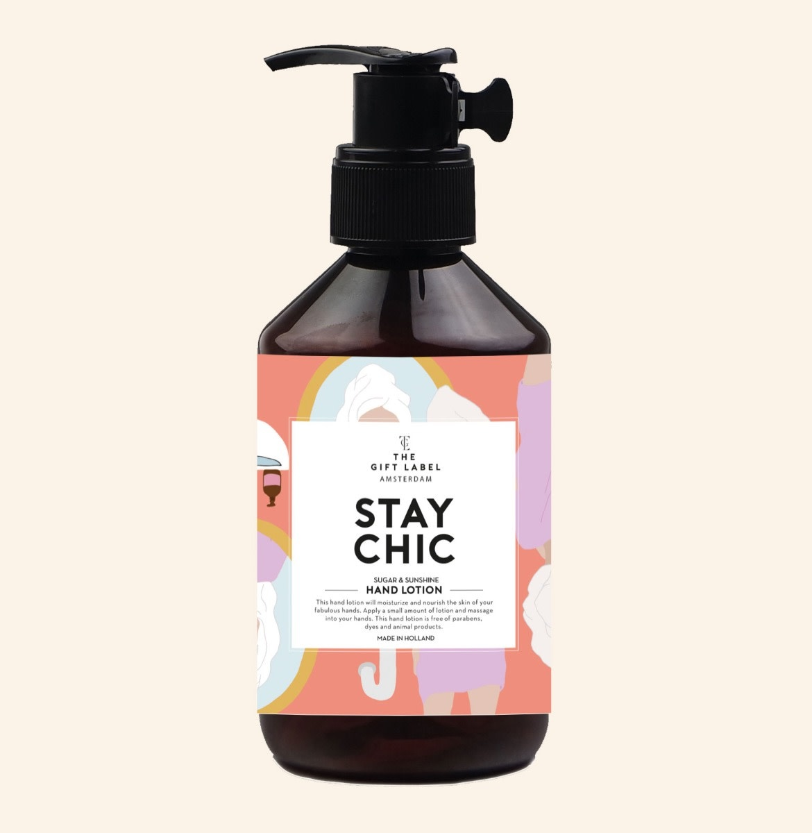 The Gift Label Hand lotion 250 ml. - Stay chic