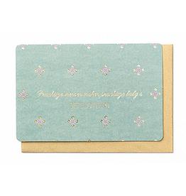 Enfant Terrible Enfant Terrible card  + enveloppe 'prachtige mensen maken prachtige baby's'