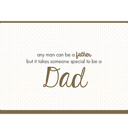 Enfant Terrible Enfant Terrible card  + enveloppe 'any man can be a father'