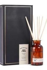 Paddywax Apothecary diffusor box + filling 354 ml. Amber & Smoke