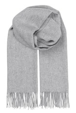 Beck Söndergaard Beck Sondergaard Crystal edition scarf 100% wool - light grey melange