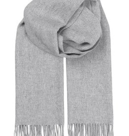 Beck Söndergaard Beck Sondergaard Crystal edition scarf 100% wool - light grey melange