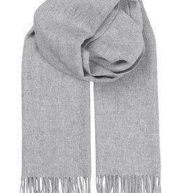 Becksondergaard Beck Sondergaard Crystal edition scarf 100% wool - light grey melange