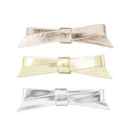 Mimi & Lula Metallic jeanie bow clips