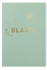 Papette Papette greeting card with enveloppe 'have a blast'