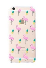 With love Iphone 7 cover -  flamingo & pineapple