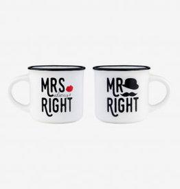 Legami Espresso for two - Mr & Mrs