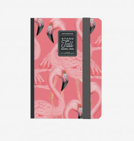 Legami Photo notebook small - flamingo
