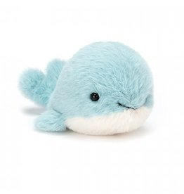 Jellycat Fluffy whale 10 cm