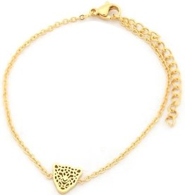 With love With love bracelet gold leopard