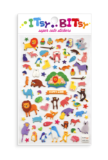 Ooly Stickers 'Itsy bitsy' Happy zoo'
