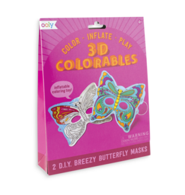 Ooly 3D Colorable butterfly masks
