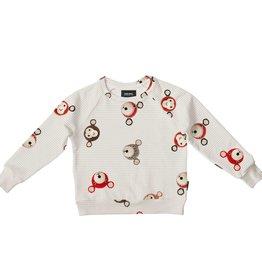 Snurk Bedding Snurk teddy & chimp sweater size 116