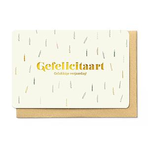 Enfant Terrible Enfant Terrible card  + enveloppe 'gefelicitaart'
