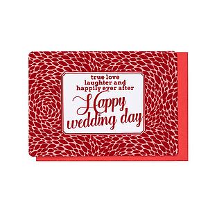 Enfant Terrible Enfant Terrible card + enveloppe 'Happy wedding day'